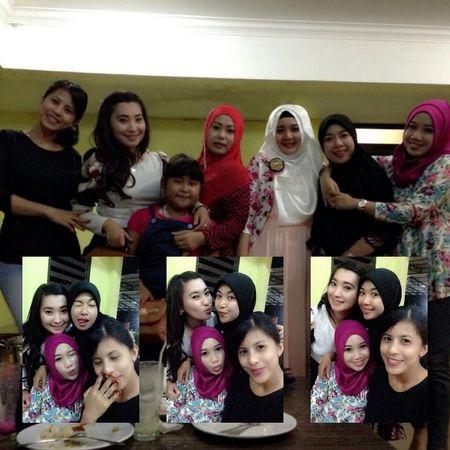 Me Girls Bestfriend Hijab Kongkow Hangout Dinner Instamoment Instapict Instagood like4like#