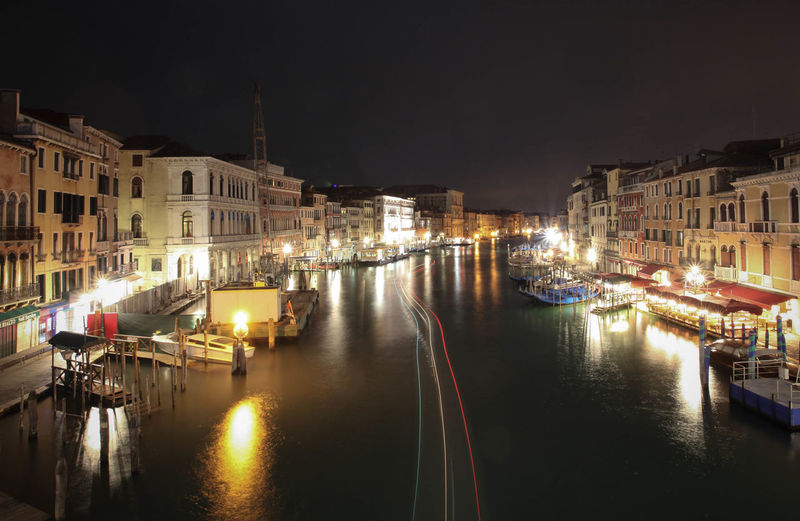 Grand Canal... Architecture Building Exterior Built Structure Canada Canal Community Grand Canal Italia Italy Long Exposure Mode Of Transport Moored Nautical Vessel Reflection Residential District River Transportation Venezia Venice Water Waterfront