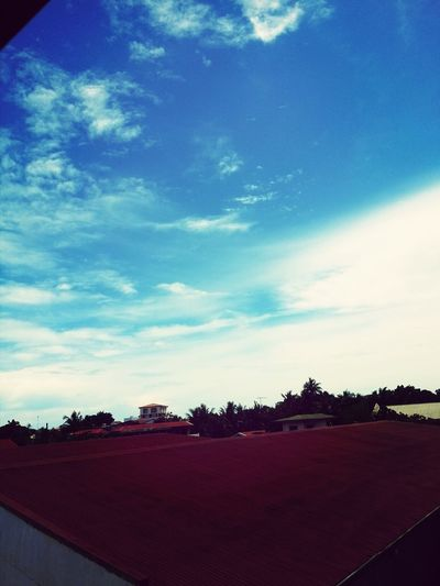 Deep Blue Sky:)