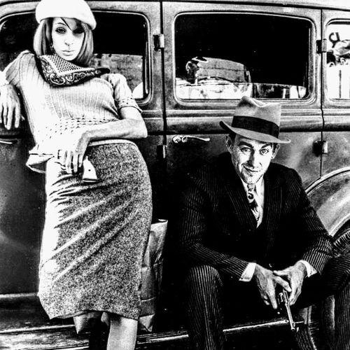 This here's Miss Bonnie Parker. I'm Clyde Barrow. We rob banks. Bonnie&Clyde Old-fashioned Human Body Part Retro Styled Adult Adults Only Portrait Looking At Camera