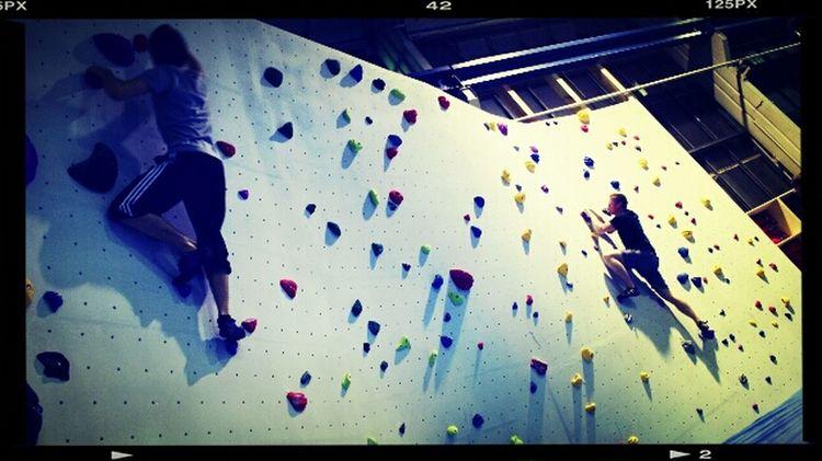 Hanging Out Bouldern.<3