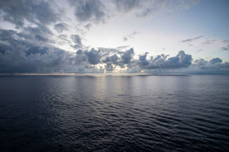 Clouds on horizon 04 Cloud - Sky Horizon Horizon Over Water Nature Rippled Scenics - Nature Sea Seascape Sky Tranquility Water Waterfront