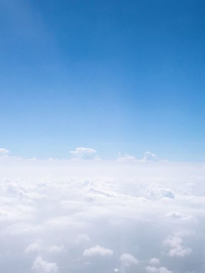 Sky Blue Cloud - Sky Beauty In Nature Copy Space Tranquility Scenics - Nature Tranquil Scene Backgrounds Cloudscape White Color Dreamlike Heaven Outdoors Low Angle View No People Nature Day Idyllic Softness
