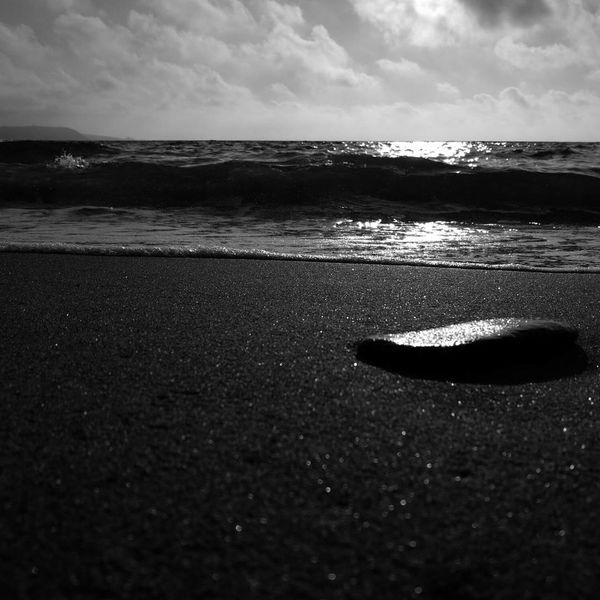 Llangranog beach Llangranog Beach Black And White Blackandwhite Photography Phone Photography Huawei P9.