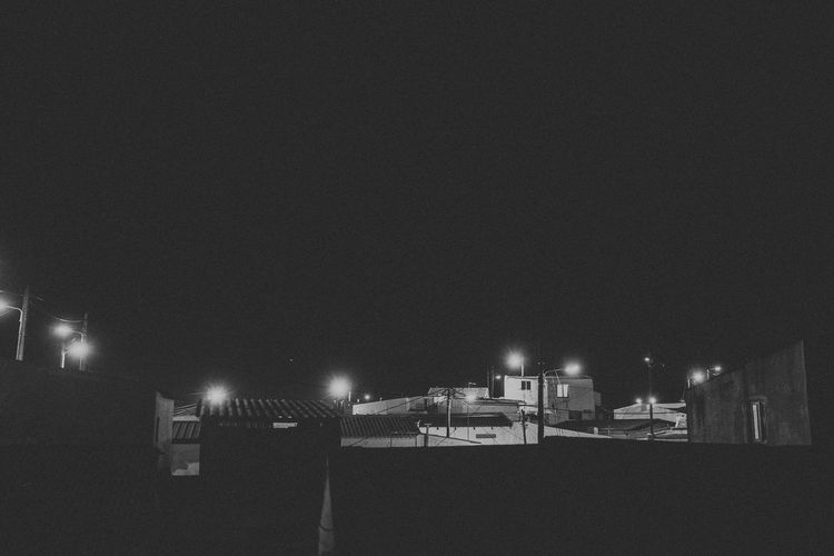 Architecture Black And White Building Exterior Built Structure City Dark Evening Illuminated Lights Nature Night Night View Nightlife No People Outdoors Sky