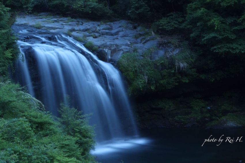 黄金の瀧-koganenotaki- 黄金の瀧 棟方志功 瀧 滝 版画 広角 時の旅人 Koganenotaki Waterfall Canon
