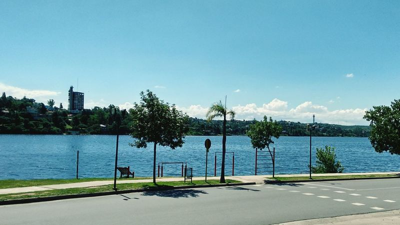 Sunny Day Nature Lake View