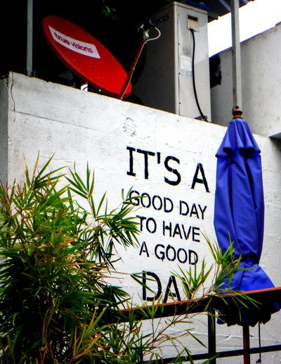 Good is a matter of perspective. Everyone has the power to change their attitude and views. Why not choose happiness? 😊 Life Is Good Be Positive Find Your Bright Side Positive Vibes Be Happy Its A Good Day  to Have A Good Day Life Quotes Mind Over Matter  Positive Thinking Happiness Bright Side Of Life Attitude Is Everything Positive MessageBright Side Positivity Truth About Life Pattaya Pattaya Thailand Thailand Fujifilm Finepix Xp60