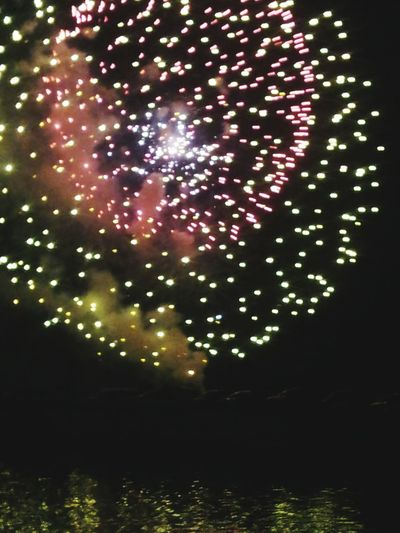 Sky Nightphotography Fireworks Night