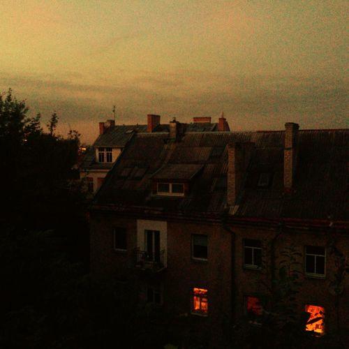 Vilnius Old Town Evening Old House VSCO