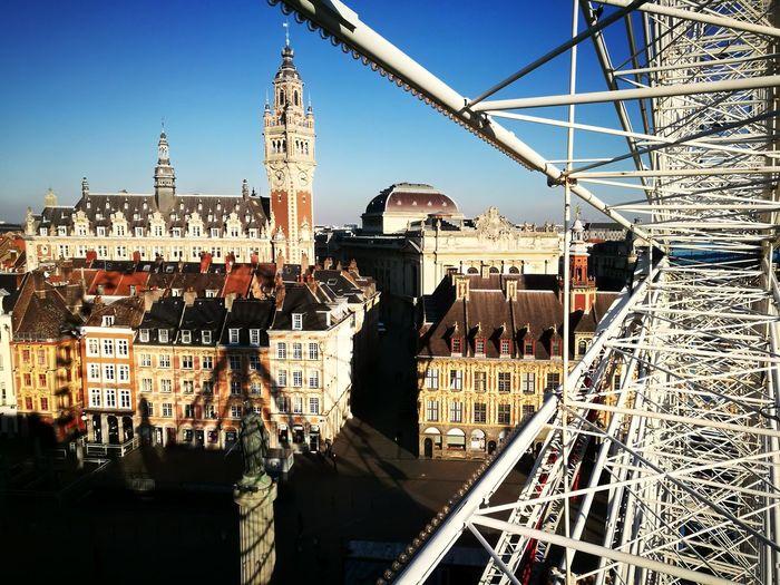 #Noël City Cityscape Amusement Park Sky Architecture Built Structure
