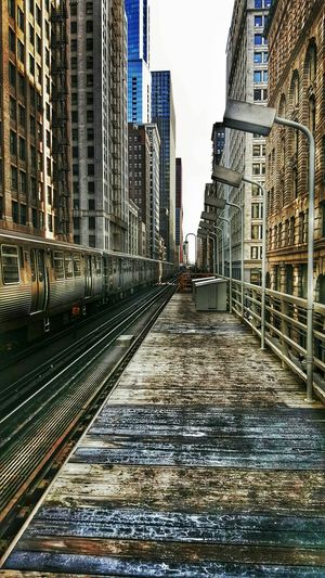I Love My City Chicago Elevatedtrain Thel Unique Beautiful Inthemoment