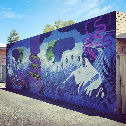 Perth Perthlife Perthisok Streetsofperth Streetart Northperth Chemodiver