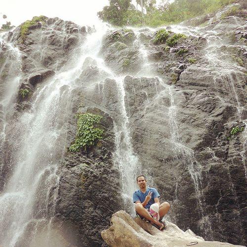 The Majestic Awao Falls!🔆 ExploringCompostelaValley Wowphilippines Itsmorefuninthephilippines Waterfall naturesbeauty compostelavalley AwaoFalls Monkayo