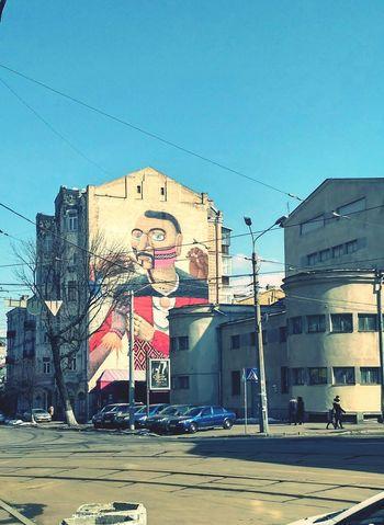 City Street Art Graffiti Sky Architecture Building Exterior