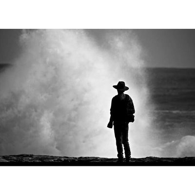 Hanging Out Taking Photos Relaxing Enjoying Life Lifes A Beach Adventure Surf Black & White