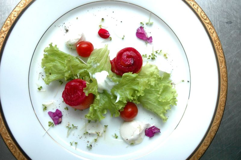 Food And Drink Food Healthy Eating Fruit Wellbeing Freshness Ready-to-eat Berry Fruit Bowl Plate Directly Above No People Vegetable Table Indoors  Still Life Dairy Product High Angle View Tomato Yogurt Garnish Temptation Eyeem Philippines Eyeem Philippines Album Salad