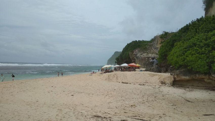 Beach Sand Sea Nature Water Incidental People Cloud - Sky