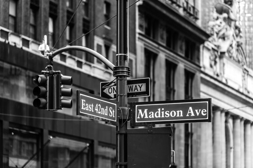 Madison Ave sign... Big Apple Black And White Blackandwhite Building Buildings City City Life City Street Madison Avenue New York New York City New York Sign Newyork Newyorkcity NY NYC NYC Photography NYC Street NYC Street Photography Sign Post Signs Traffic Lights Travel Travel Destinations Travel Photography