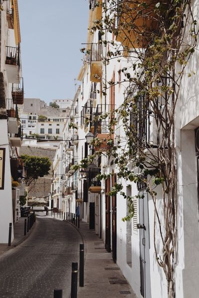 Streets of Ibiza town Architecture No People Built Structure Ibiza SPAIN Cute Europe Europe Trip Travel Wanderlust