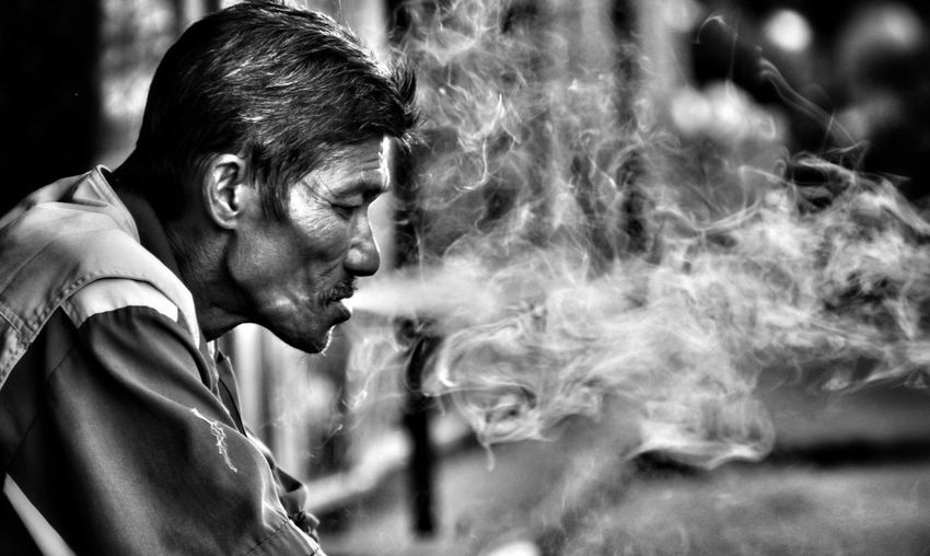 The Art Of Street Photography Portrait Headshot Men Males  Side View Forgiveness Concentration Profile View Close-up