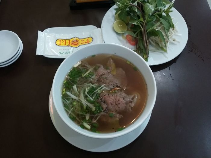 PHỞ 24 Eating Checking In