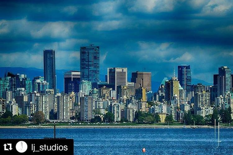 Repost @lj_studios with @repostapp ・・・ Vancouver Downtown from Spanishbanks Kitsilano Shangrila Trumptower Englishbay Vancouverisawesome Vincitybuzz Narcityvancouver Canada HDR Nikon Ljstudios