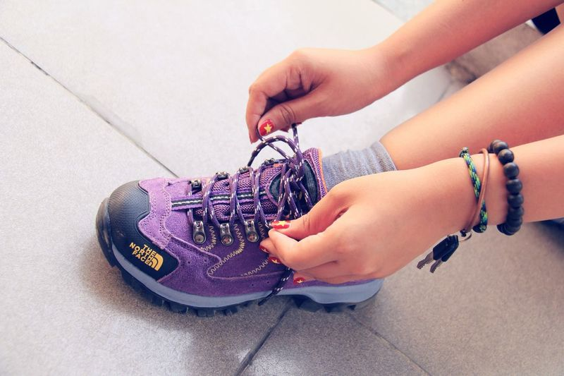 Good Shoes Good Places Red Flag Yellow Star Nails Snapshots Of Life NorthFace Vietnamese Women 's Museum EyeEm