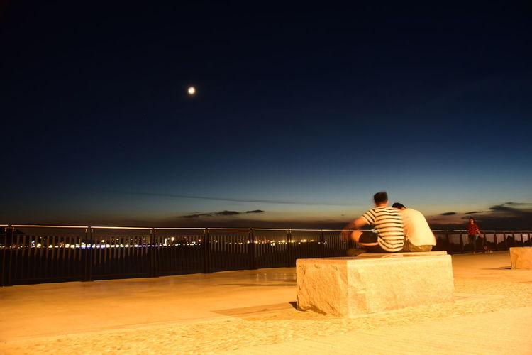Moon Clear Sky