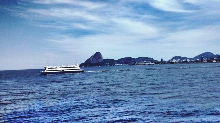 Rio De Janeiro Morro Pao De Acucar Barcas Baia Da Guanabara City Cityscape