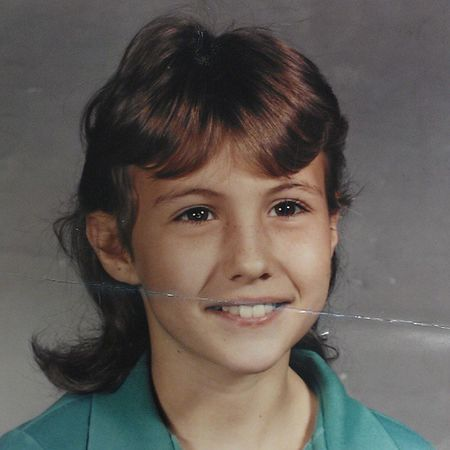 2nd or 3rd grade. Cant remember. Dig the mullett! Business in the front, party in the back!! TBT  Mullett Schoolpics