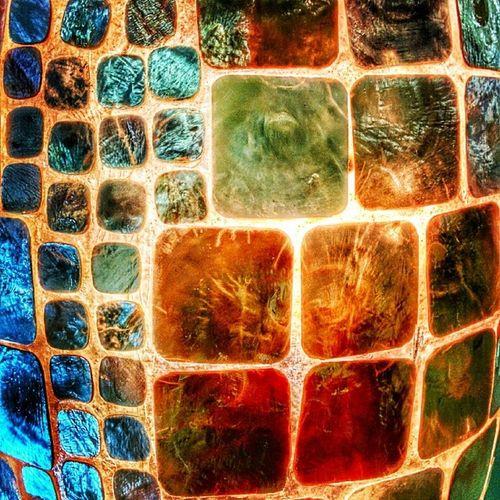 Trésors de ma mère de la mer. Details: Mother of pearl lamp from Rustans. NaturesBest Manila Philippines