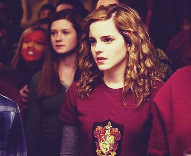 At Hogwarts Harry Potter Potterhead Hermione my darling . not emma watson SHE is HERMiONE GRANGER