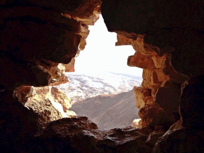 Israel Desert Holeintherock Hole