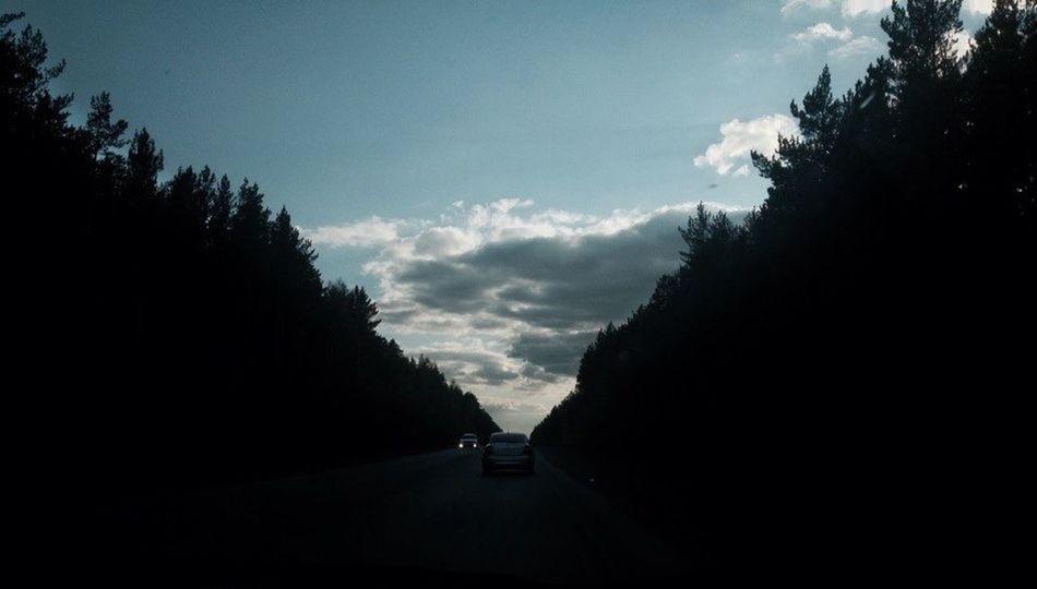 Гагарка Россия Russia Road Car