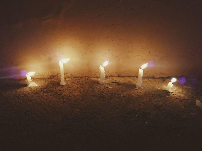 Taking Photos Candles Diwali2014 Diwali