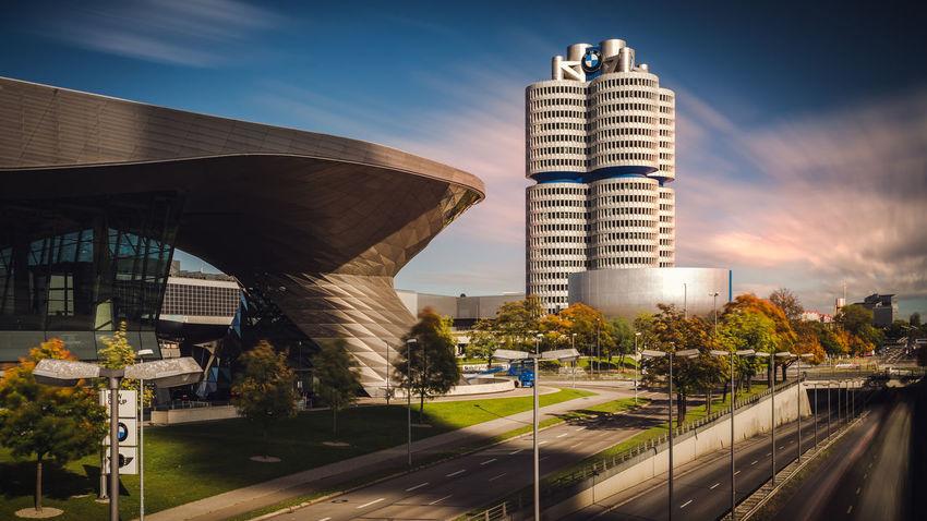 BMW World in Munich, Germany BMW World Munich Munich, Germany Architecture Bmw Building Exterior Built Structure City Day Munich Architecture Nature No People Outdoors Sky Transportation