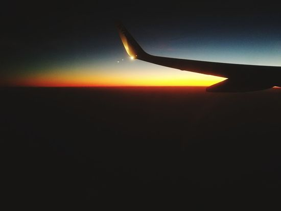 Airplane Air Vehicle Airplane Wing Looking Out The Window Planet - Space Horizon Sky Sky And Clouds Skyscape Majestic Wings Wing Sunset Sunrise Sunrise Silhouettes Space Space And Astronomy Astronomy Airplane Flying Space Air Vehicle Sunset Commercial Airplane Journey Aerial View Aircraft Wing