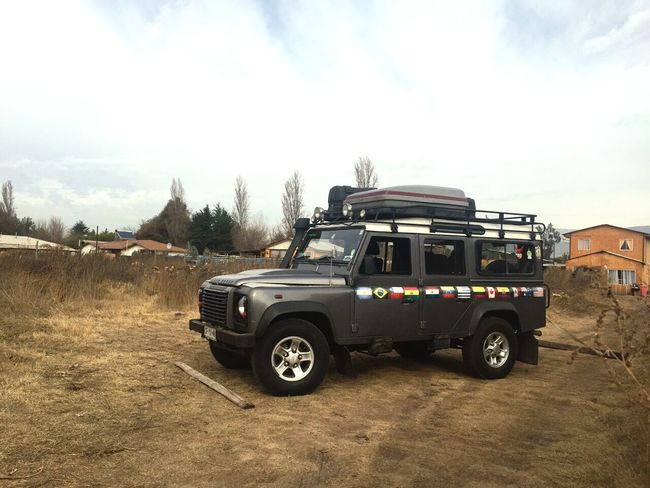 El Cacharro Land Rover Defender Chile 4x4