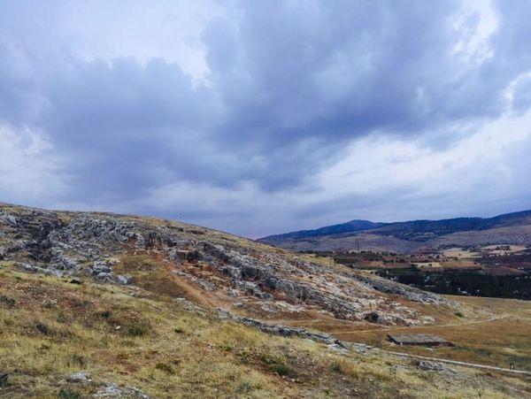 Adıyaman Türkiye Perreantikkent Nature Doğa Bulutlar Blue Sky Mavigökyüzü Dağ Mountain Sky Beauty In Nature Cloud Cloud - Sky