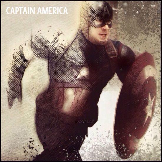 The Captain Fantasy, Concept Art, IColorama Snapseed Photo Power