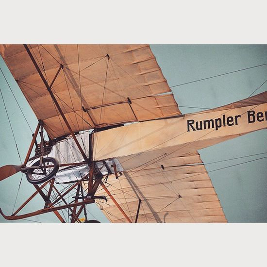Old Airplane . at the Aeronautics and Aviation exhibition at the DeutchesMuseum museum. Taken by MY SonyAlpha Dslr A57 . münchen Munich bayarn Bavaria Germany Deutschland. متحف قسم طيران طائرات ملاحة ميونخ المانيا بافاريا