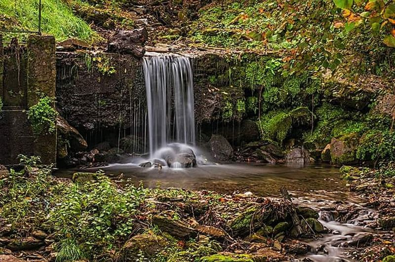 Waterfall Water Landscape Environment Nature Long Exposure
