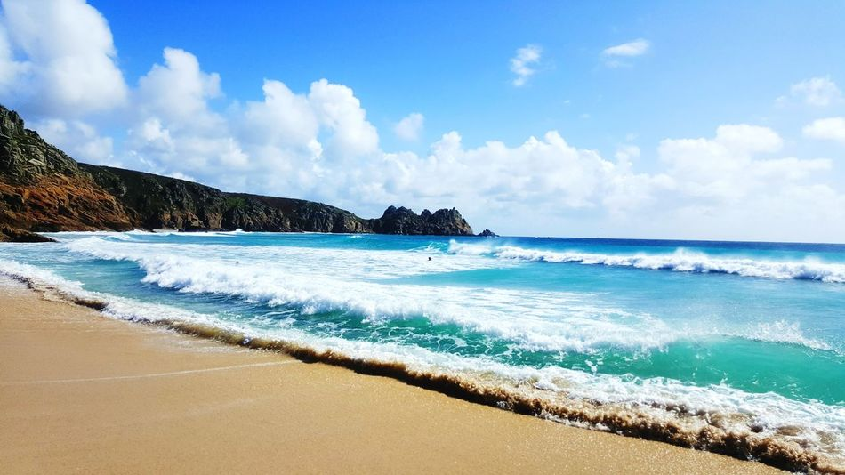 Cornwall Travel Destinations Idyllic Beauty In Nature Beach
