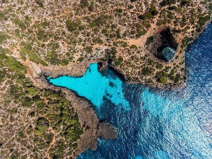 blue lagoon Aerial Aerial Photography Aerial Shot Aerial View Backgrounds Beach Beauty In Nature Blue Dji Drone  Island Lagoon Mediterranean  Mediterranean Sea Nature No People Sea Shore SPAIN Water