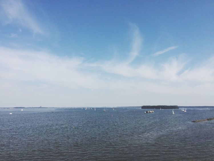 Naarden Sea Hanging Out Sailing Party View Enjoying The View