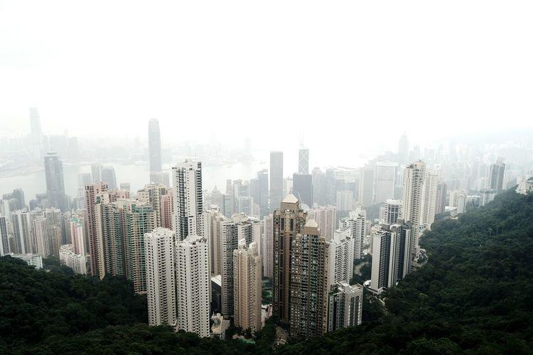 HongKong Buildings Thepeak Travel VictoriaPeak Eyemphilippines Winter Hk