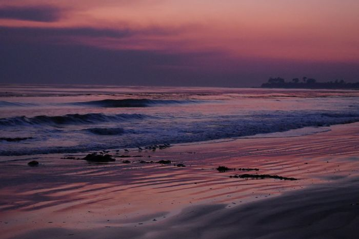 sunset blocked by ash Purple Pink Sunset Nature Beach Beauty In Nature Scenics Tranquility No People Sea Outdoors Sand Tranquil Scene Water Sky Horizon Over Water EyeEmNewHere