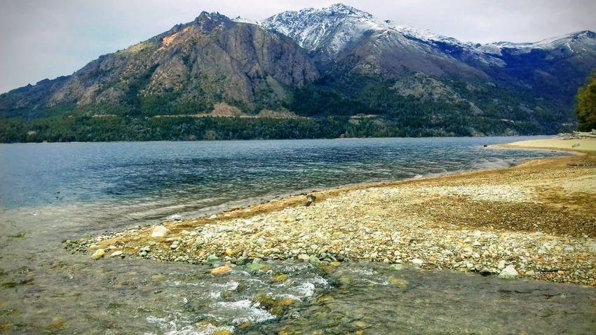 Lago Gutiérrez ❤️ Water Mountain Beauty In Nature Tranquil Scene Tranquility Scenics - Nature Nature Lake No People Outdoors Idyllic Non-urban Scene Day Mountain Range