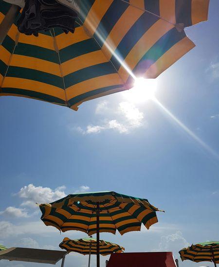 Sun Umbrellas Sky Beautiful Day Raysofsun Rays Of The Sun Rays Of Light